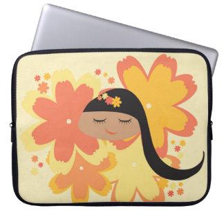 Lil Girlies - Srta. Orange Posy Mangas Portátiles