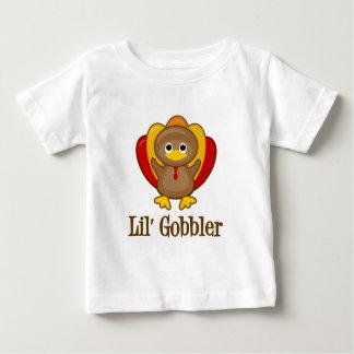 Lil' Gobbler Cute Turkey Thanksgiving Baby T-Shirt