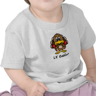 Lil' Gobbler [personalize] Tees