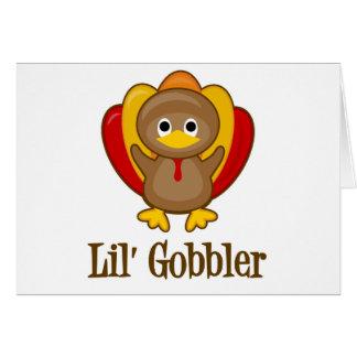 Lil' Gobbler Turkey Greeting Card