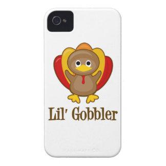 Lil' Gobbler Turkey iPhone 4 Case-Mate Cases