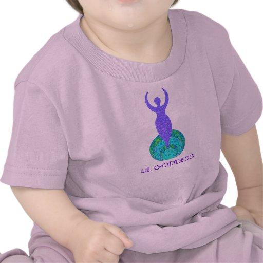 Lil Goddess Infant Toddler Baby Tee Shirt