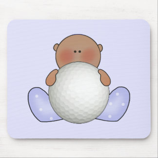 Lil Golf Baby Boy- Ethnic Mouse Pad