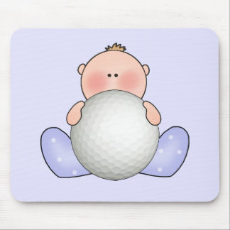 Lil Golf Baby Boy Mouse Pad