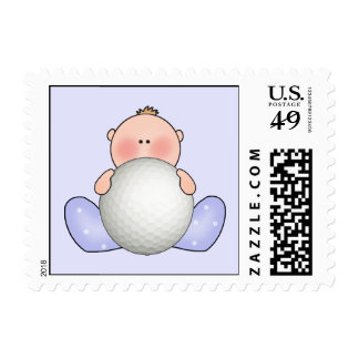 Lil Golf Baby Boy Postage