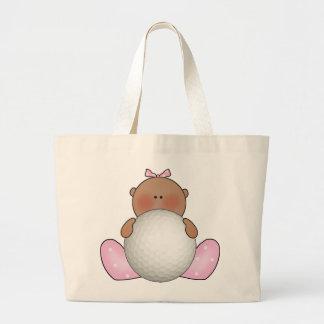 Lil Golf Baby Girl - Ethnic Jumbo Tote Bag