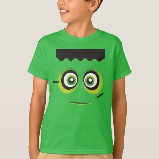Lil green Frankenstein emoji T-Shirt
