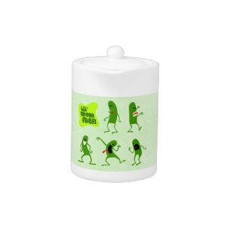 Lil' Green Men Teapot