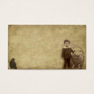 Lil' Guy & His Sheep- Prim Biz Cards