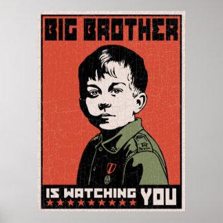 Li'l hermano mayor póster