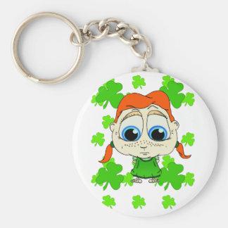 Lil Irish Lass Keychain