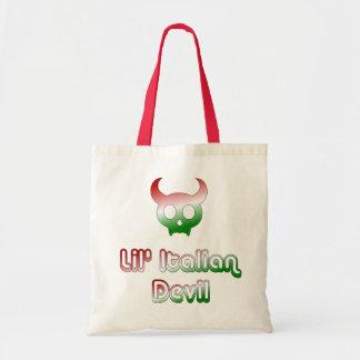 Lil' Italian Devil Canvas Tote Bag
