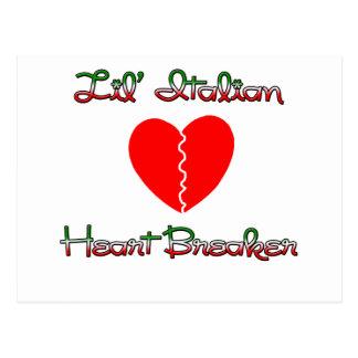 Lil' Italian Heart Breaker Postcard