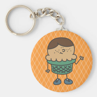 Lil' Itty Charles Cone Keychain