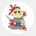 Lil Jason Classic Round Sticker