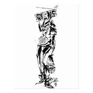 """Lil Jon """"colaboración de Jim Mahfood y Lil Jon """" Postal"""