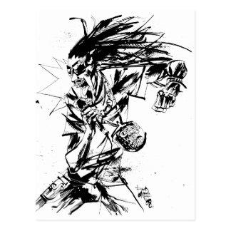 "Lil Jon ""colaboración de Jim Mahfood y Lil Jon "" Tarjetas Postales"