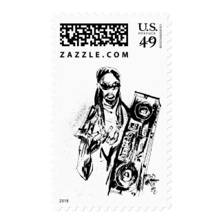 "Lil Jon ""Collaboration by Jim Mahfood and Lil Jon"" Stamp"