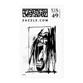 "Lil Jon ""Collaboration by Jim Mahfood and Lil Jon"" Postage Stamp"