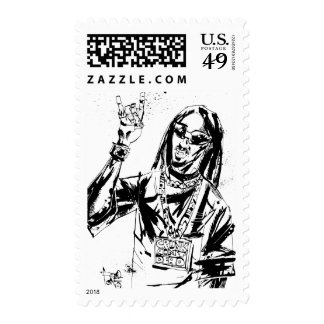 "Lil Jon ""Collaboration by Jim Mahfood and Lil Jon"" Stamps"