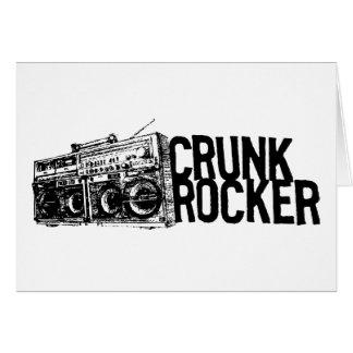"""Lil Jon """"Crunk Rocker Boombox Black White"""" Card"""