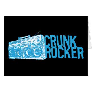 "Lil Jon ""Crunk Rocker Boombox Blue"" Card"