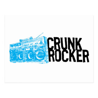 "Lil Jon ""Crunk Rocker Boombox Blue"" Postcard"