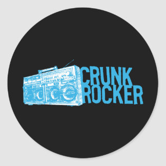 "Lil Jon ""Crunk Rocker Boombox Blue"" Sticker"