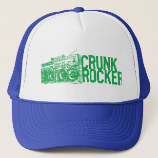 "Lil Jon ""Crunk Rocker Boombox Green"" Trucker Hat"