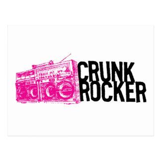 "Lil Jon ""Crunk Rocker Boombox Pink"" Postcard"