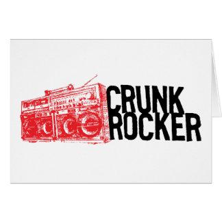 "Lil Jon ""Crunk Rocker Boombox Red"" Card"