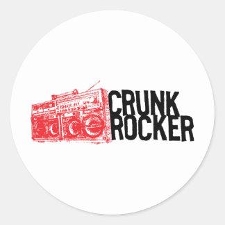 "Lil Jon ""Crunk Rocker Boombox Red"" Sticker"