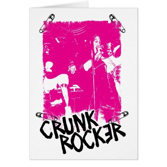 "Lil Jon ""Crunk Rocker Safety Pin Pink"" Card"