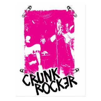 "Lil Jon ""Crunk Rocker Safety Pin Pink"" Postcard"