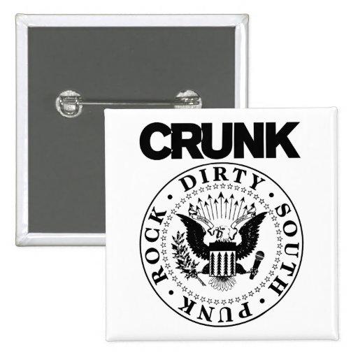"Lil Jon ""Crunk Seal"" Buttons"