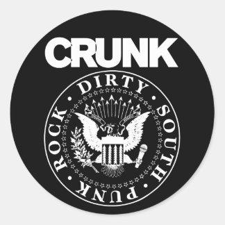 "Lil Jon ""Crunk Seal"" Classic Round Sticker"