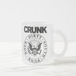 "Lil Jon ""Crunk Seal"" Frosted Glass Coffee Mug"