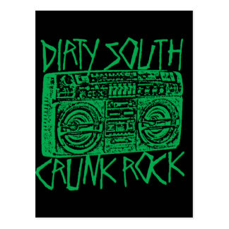 "Lil Jon ""Dirty South Boombox Green"" Postcard"