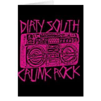 "Lil Jon ""Dirty South Boombox Pink"" Card"