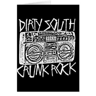 "Lil Jon ""Dirty South Boombox White"" Card"