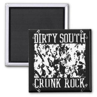 "Lil Jon ""Dirty South Crunk Rock"" White Magnets"