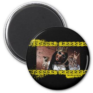 "Lil Jon ""King of Crunk"" 2 Inch Round Magnet"