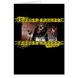 """Lil Jon """"King of Crunk"""" Card"""