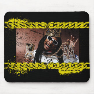 "Lil Jon ""King of Crunk"" Mouse Pad"