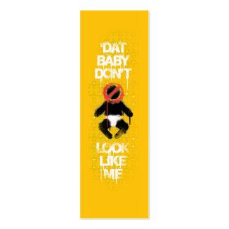 "Lil Jon ""Shawty Putt- Dat Baby Don't Look Like Me"" Mini Business Card"
