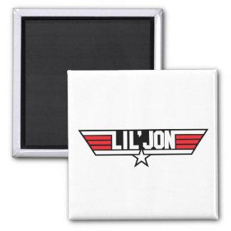 "Lil Jon ""Top Gun"" 2 Inch Square Magnet"