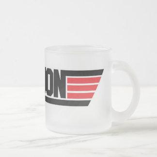 "Lil Jon ""Top Gun"" Frosted Glass Coffee Mug"