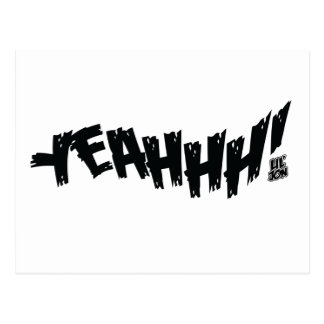 """Lil Jon """"Yeeeah!"""" Black Postcard"""