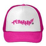 """Lil Jon """"Yeeeah!"""" Magenta hats"""