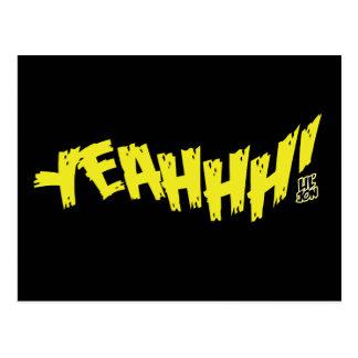 """Lil Jon """"Yeeeah!"""" Yellow Postcard"""